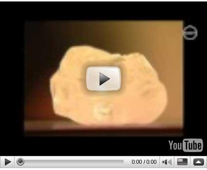 レツェング鉱山で産した478ctのダイアモンド
