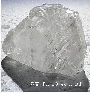 507ctのカリナン・ヘリテージ・ダイヤモンド原石