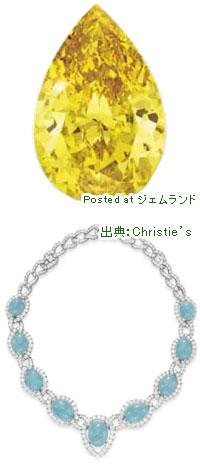 クリスティーズのジュエリーオークションで5億円で落札されたダイヤモンド