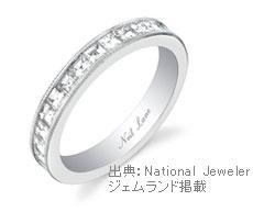 エタニティ・ダイヤモンド・リング