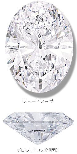 世界最大のオーバルカットダイアモンド